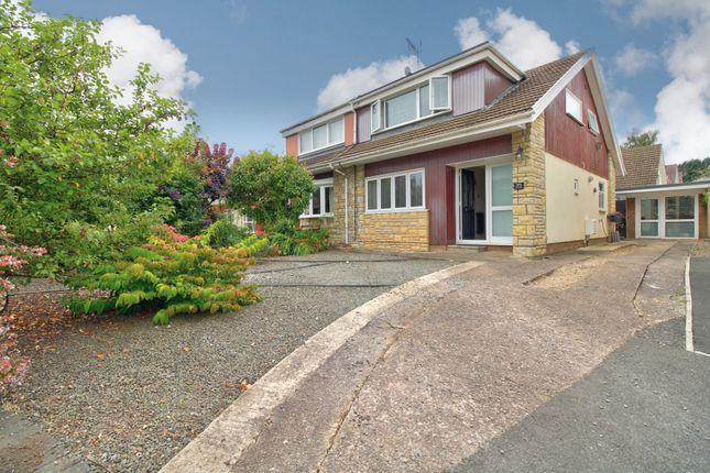 Thumbnail Semi-detached house for sale in Longhouse Barn, Penperlleni, Pontypool