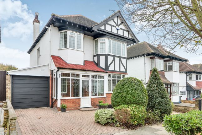Thumbnail Detached house for sale in Hall Park Avenue, Westcliff-On-Sea, Essex