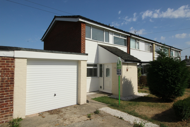 Thumbnail Semi-detached house to rent in Hungerford Road, Calne