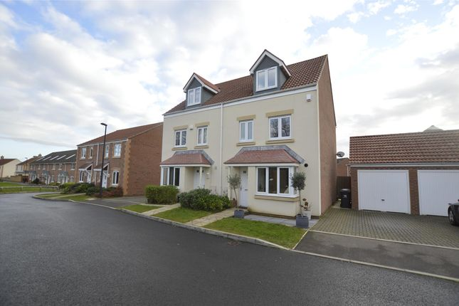 Thumbnail Semi-detached house for sale in Green Crescent, Frampton Cotterell, Bristol