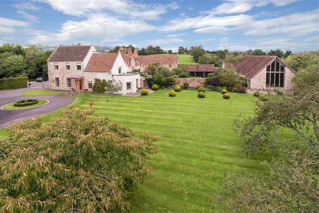 Thumbnail Detached house for sale in Burcott Manor, Pennybatch Lane, Burcott, Near Wells, Somerset