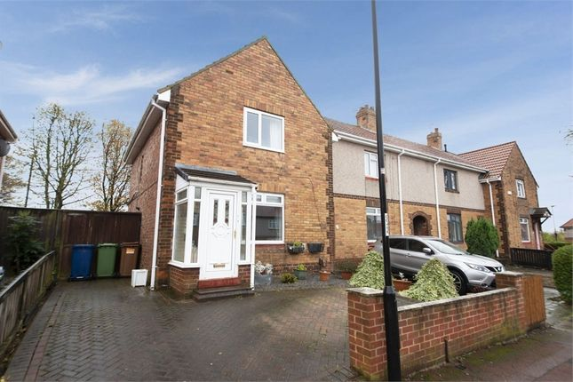 Thumbnail End terrace house for sale in Scruton Avenue, Sunderland, Tyne And Wear