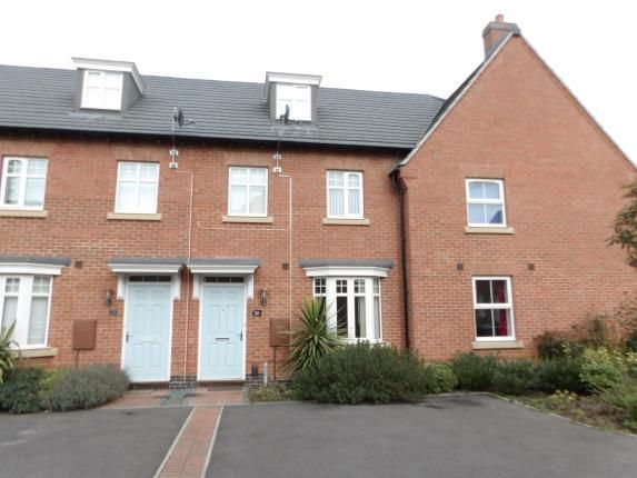Thumbnail Terraced house for sale in Crowson Drive, Quorn, Loughborough, Leicestershire