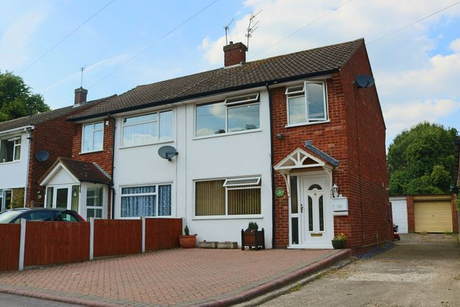 Thumbnail Semi-detached house for sale in Caxton Drive, Uxbridge