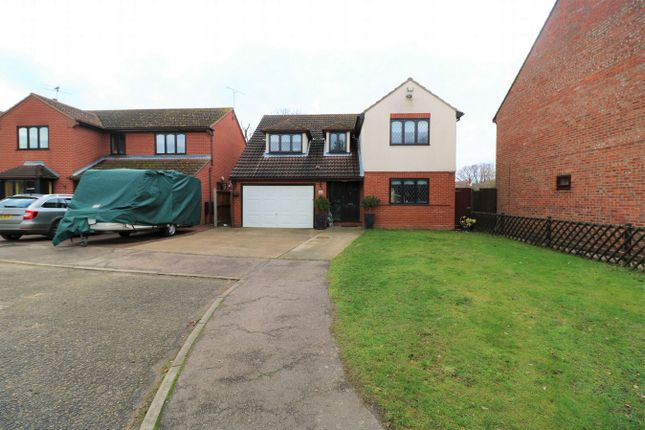 Thumbnail Detached house for sale in St Andrews Close, Alresford, Essex