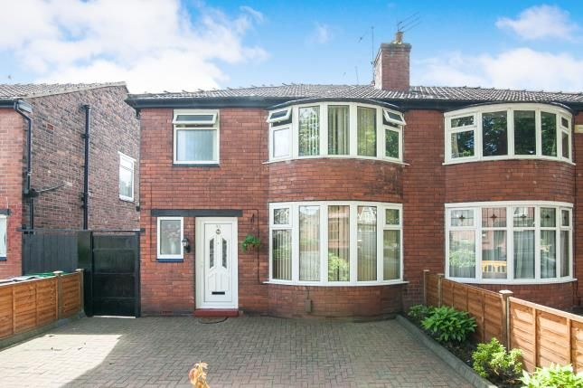 Thumbnail Semi-detached house for sale in Mauldeth Road, Manchester, Greater Manchester