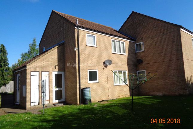 Thumbnail Flat to rent in Pyms Close, Great Barford, Bedford