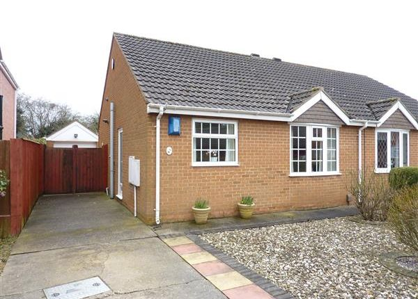 Thumbnail Semi-detached bungalow for sale in Meadowbank, Great Coates, Grimsby