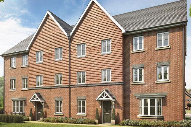"Thumbnail Semi-detached house for sale in ""Leeman"" at Locksbridge Road, Picket Piece, Andover"