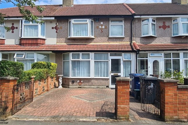 Thumbnail Terraced house to rent in Brooklands Drive, Perivale, Greenford, Greater London
