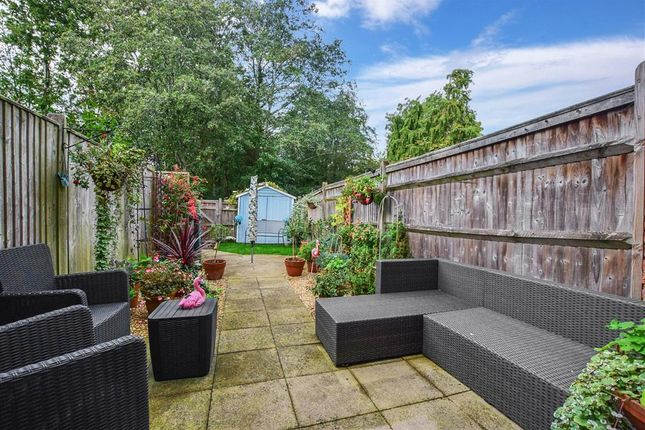 Rear Garden of Silver Hill Road, Willesborough, Ashford, Kent TN24