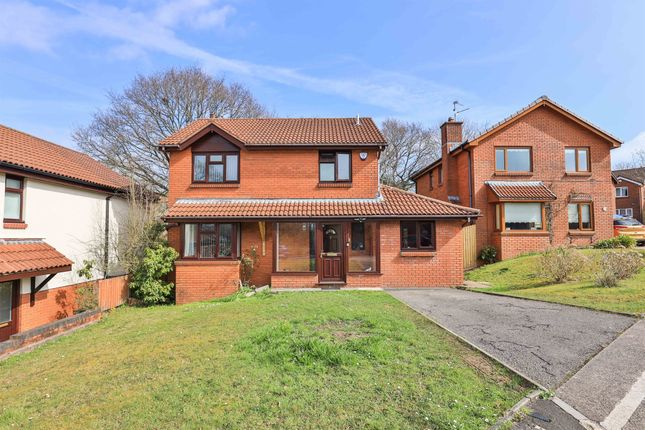 Thumbnail Detached house for sale in Dombey Close, Thornhill, Cardiff