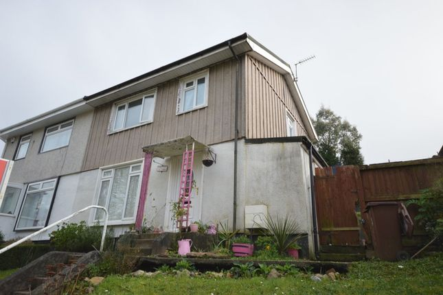 Thumbnail Property for sale in Dryburgh Crescent, Plymouth