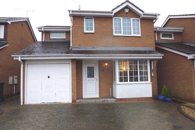 Thumbnail Detached house to rent in Skeldale Drive, Chesterfield