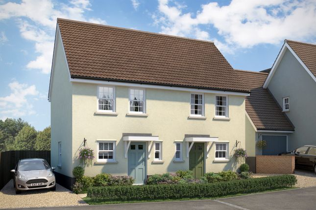 Thumbnail Semi-detached house for sale in Apple Tree Mews, Cuckoo Hill, Bures