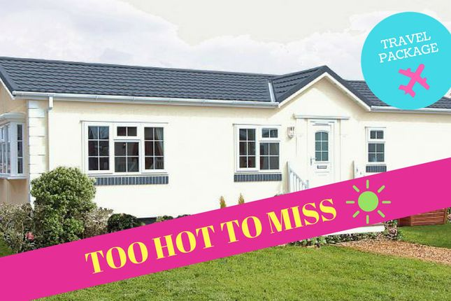 Thumbnail Mobile/park home for sale in Bayworth, Abingdon Oxfordshire