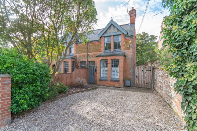 Thumbnail Semi-detached house for sale in Nelson Road, Fakenham