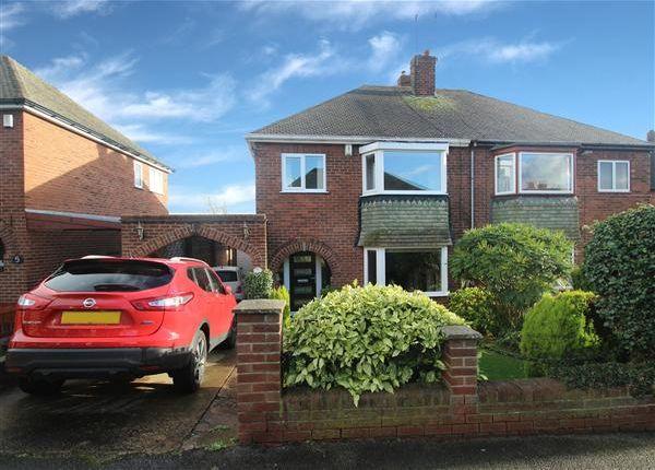 Thumbnail Semi-detached house for sale in Cottam Croft, Hemsworth, Pontefract