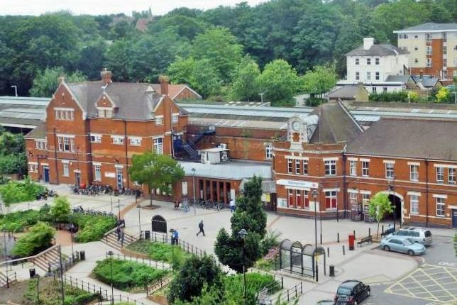Basingstoke Train Station