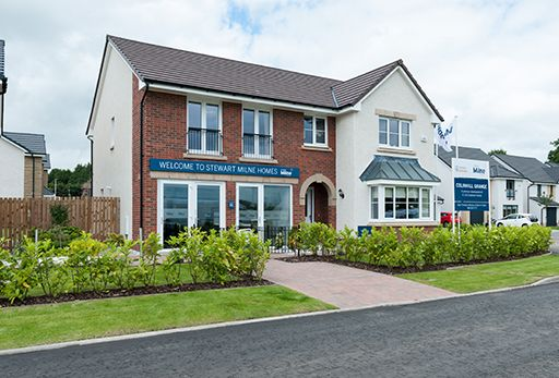 "Thumbnail Detached house for sale in ""Melton"" at Colinhill Road, Strathaven"