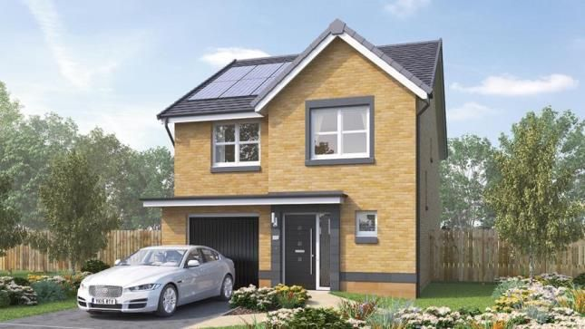 Thumbnail Detached house for sale in Dargavel, Slateford Road, Bishopton