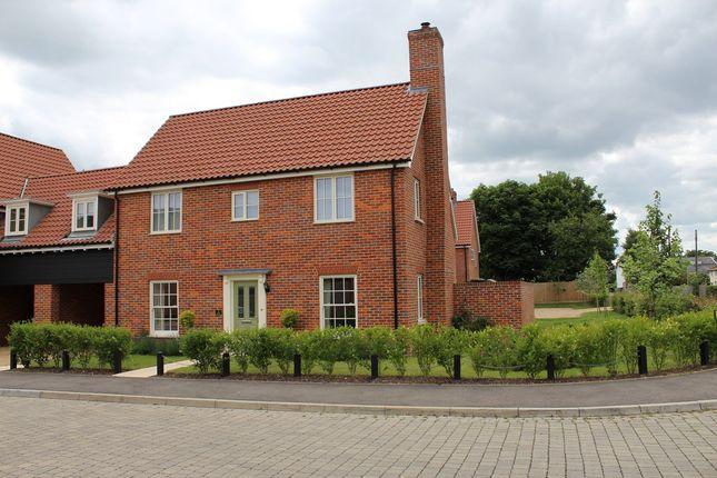 Thumbnail Link-detached house for sale in Lingwood Close, Barningham, Bury St. Edmunds