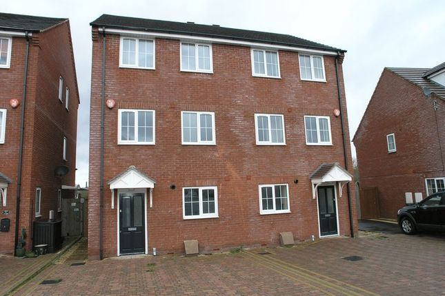 Thumbnail Semi-detached house to rent in Weir Court, Stourbridge