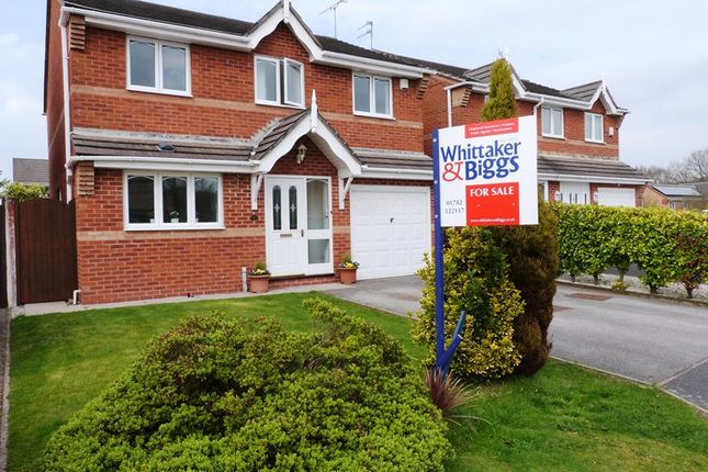 Thumbnail Detached house to rent in Hawthorn Grove, Biddulph