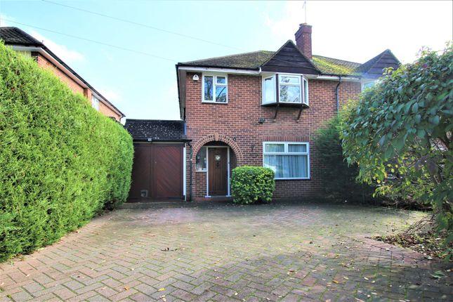 Thumbnail Semi-detached house to rent in Charlbury Road, Ickenham, Uxbridge