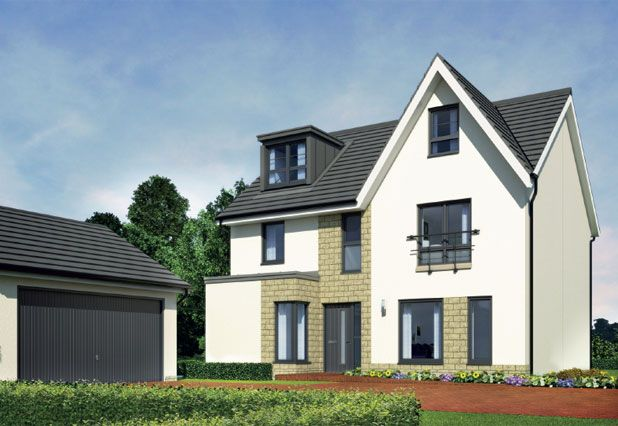 """Thumbnail Detached house for sale in """"Savannah Grand II Hw """" at Stornoway Drive, Inverness"""