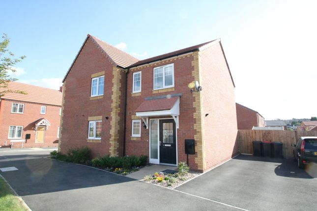 Thumbnail Semi-detached house for sale in Byford Drive, Polesworth, Tamworth