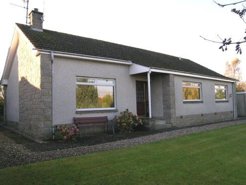 Thumbnail Detached bungalow to rent in Glengaur, Main Road, Luncarty