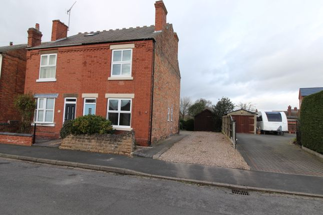 Thumbnail Semi-detached house to rent in Mount Street, Breaston, Derbyshire