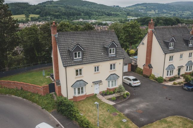 Thumbnail Detached house for sale in Risca Road, Rogerstone, Newport