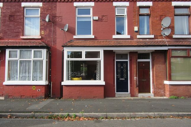 Thumbnail Terraced house for sale in York Avenue, Whalley Range, Manchester.