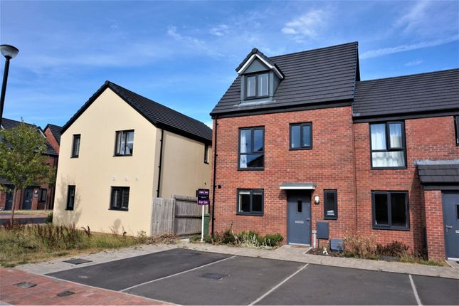 Thumbnail End terrace house for sale in Haven Walk, Barry