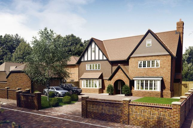 Thumbnail Detached house for sale in Ryebridge Lane, Upper Froyle