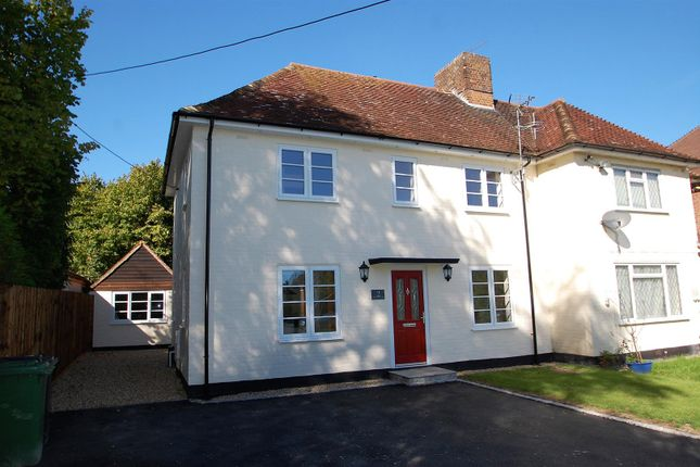 Thumbnail Semi-detached house for sale in Farnham Road, Liss