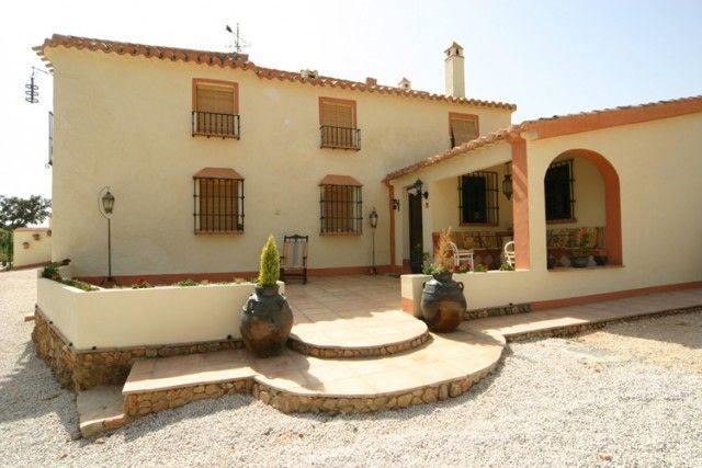 Exterior of Spain, Málaga, Villanueva Del Rosario