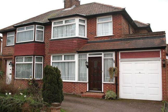 Thumbnail Semi-detached house for sale in Ladycroft Walk, Stanmore, Middlesex