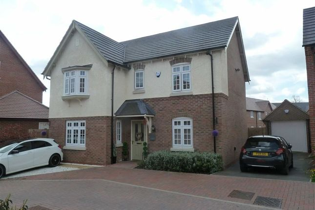 Thumbnail Detached house for sale in Red Cross Way, Church Fields, Weddington, Nuneaton