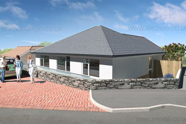 Thumbnail Detached bungalow for sale in Carn Bosavern Close, St. Just, Penzance, Cornwall