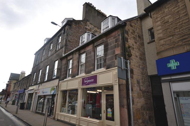 Thumbnail Flat to rent in High Street, Dalkeith, Midlothian