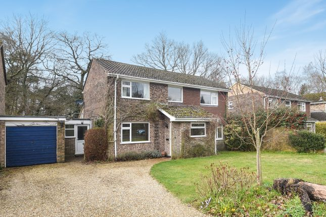 Thumbnail Detached house for sale in Penwood Heights, Penwood, Newbury
