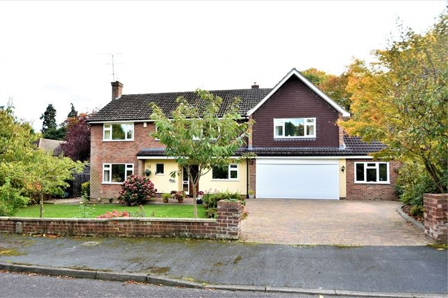 Thumbnail Detached house for sale in Elsenwood Crescent, Camberley, Surrey