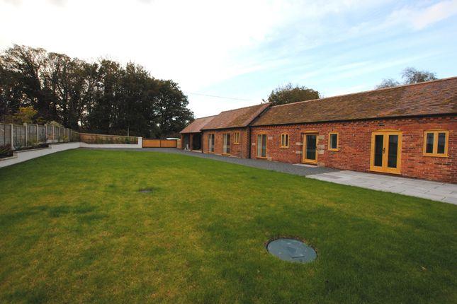 Thumbnail Barn conversion for sale in Wollerton, Market Drayton
