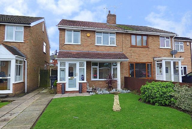 Thumbnail Semi-detached house for sale in Cheveley Avenue, Rubery