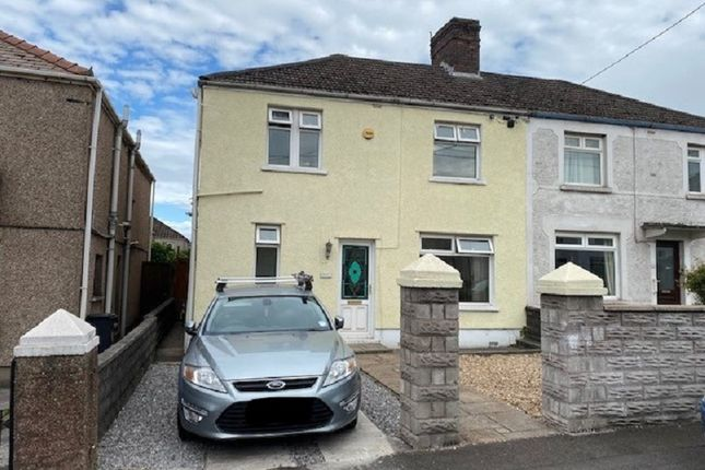 3 bed semi-detached house for sale in Woodland Avenue, Port Talbot, Neath Port Talbot. SA13