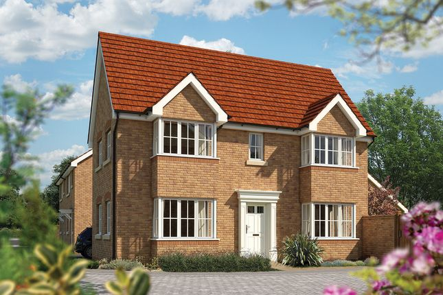 "Thumbnail Detached house for sale in ""The Sheringham"" at Priory Fields, Wookey Hole Road, Wells, Somerset, Wells"