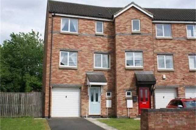 Thumbnail End terrace house to rent in Bridges View, Village Heights, Gateshead, Tyne And Wear